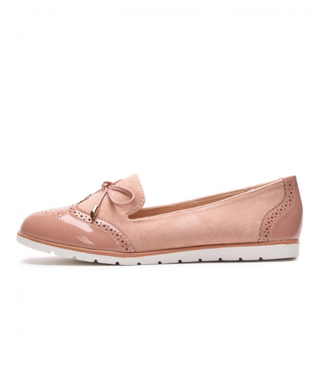 Loaferice Jane roza